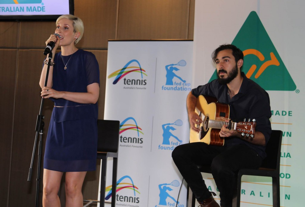 Devin & Germaine perform at Breakfast With The Stars! -